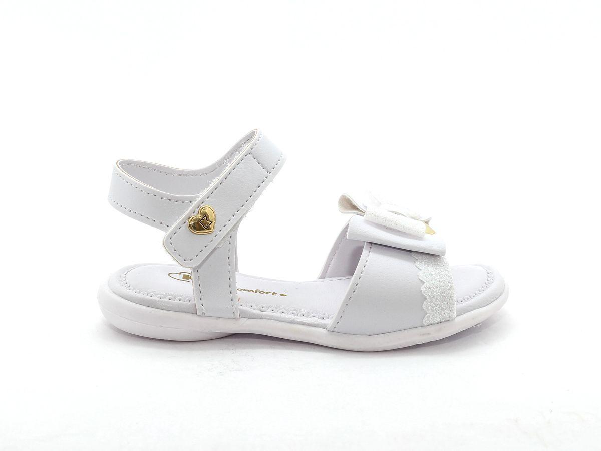 Sandalia Kidy Branco Feminino 002-0693