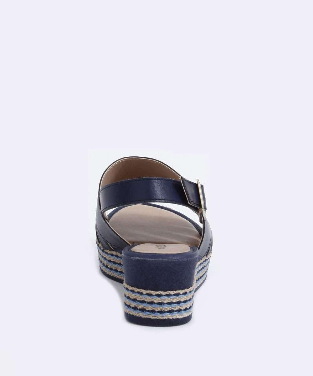 Sandalia Mississipi Azul Feminino Q0987