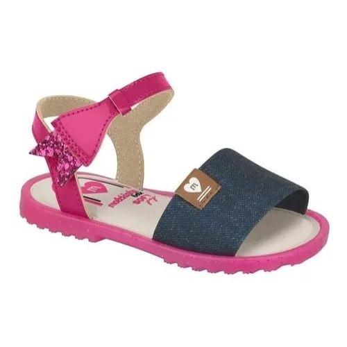 Sandalia Molekinha Jeans/Pink Feminino 2700.201