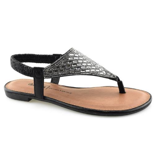 Sandálias Dakota Preto Feminino Z6951