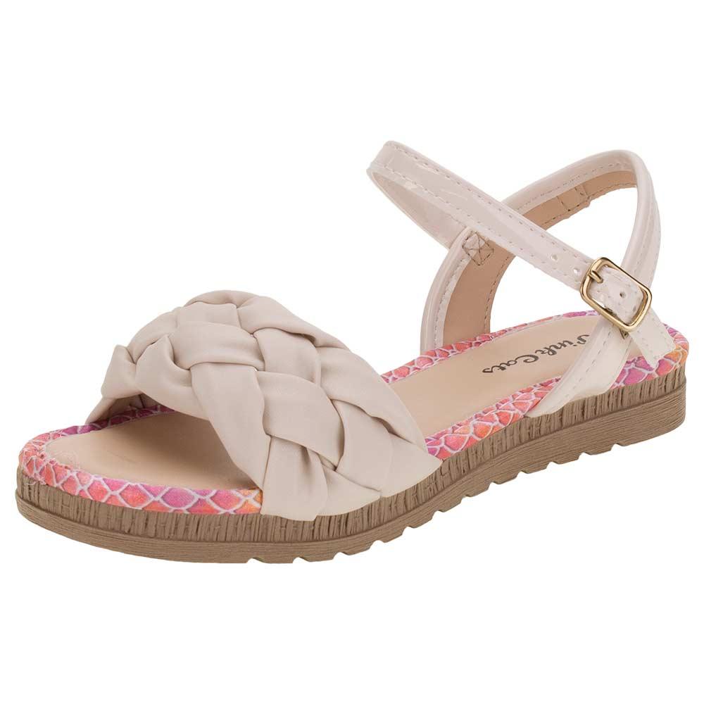 Sandalia Pink Cats Rose Feminino V1382
