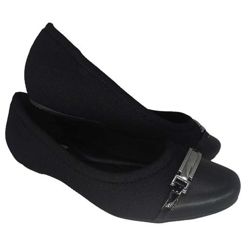 Sapatilha Comfort Flex Preto Feminino 2084303