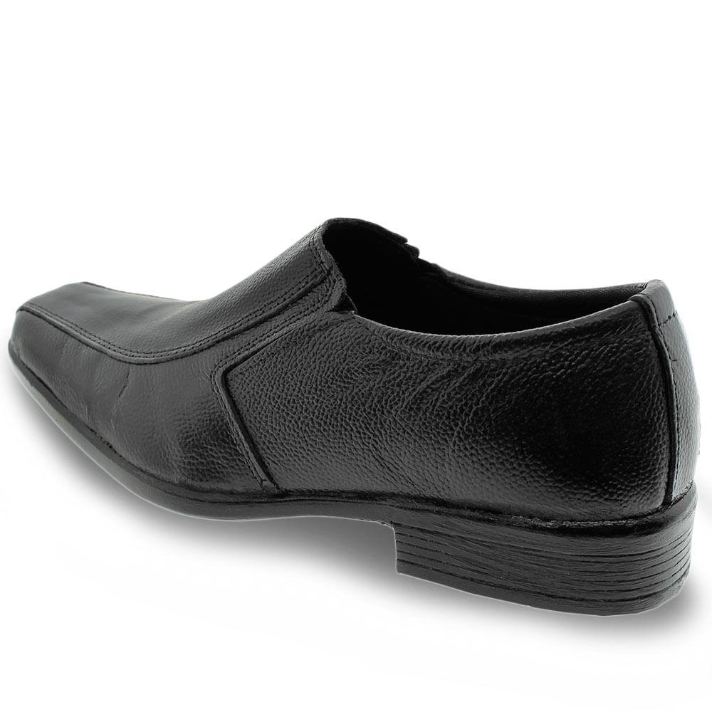 Sapato Fox Preto Masculino 703