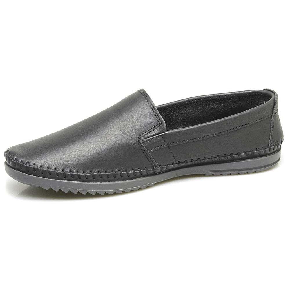 Sapato Free Way Preto Masculino Logan 4