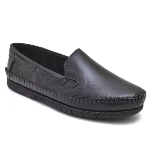 Sapato Mocassim Granado Preto Masculino 400