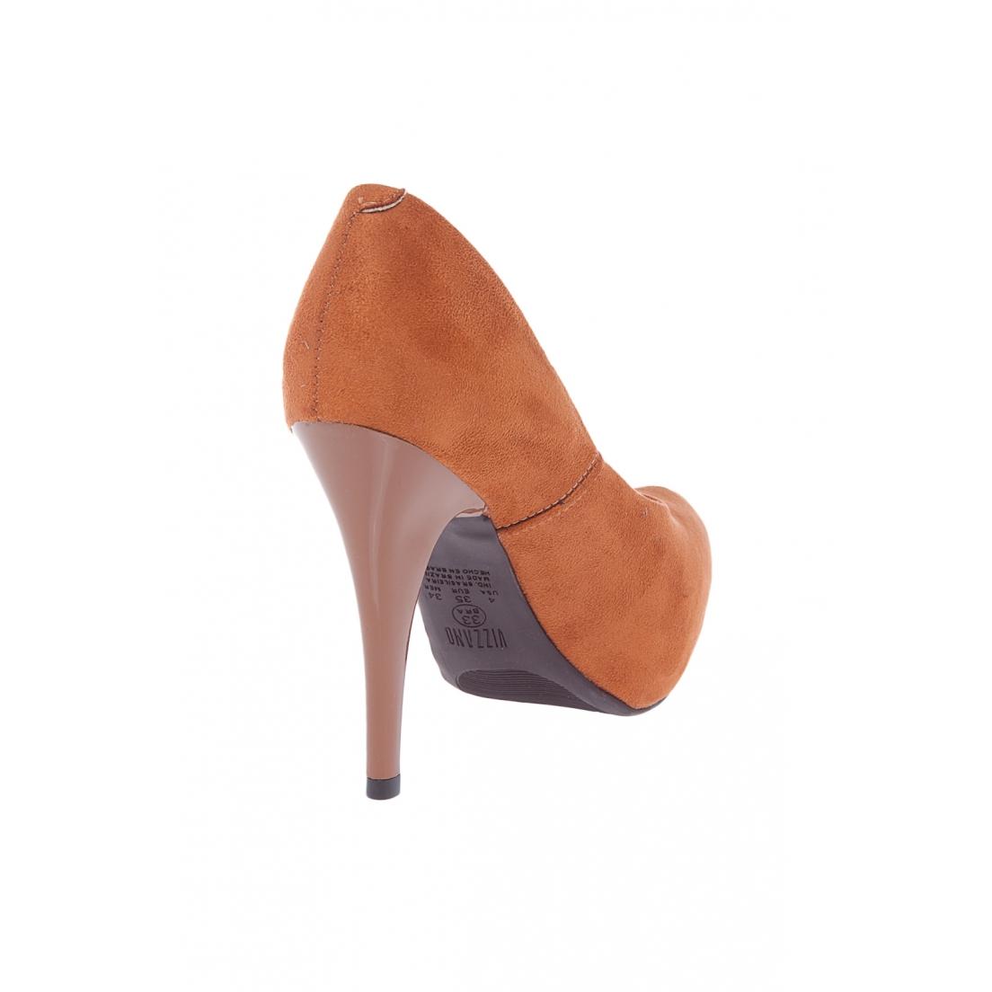 Sapato Salto Alto Vizzano Caramelo Feminino 1143.351