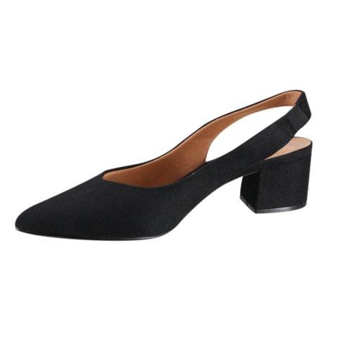 Sapato Salto Baixo Vizzano Preto Feminino 1220.225