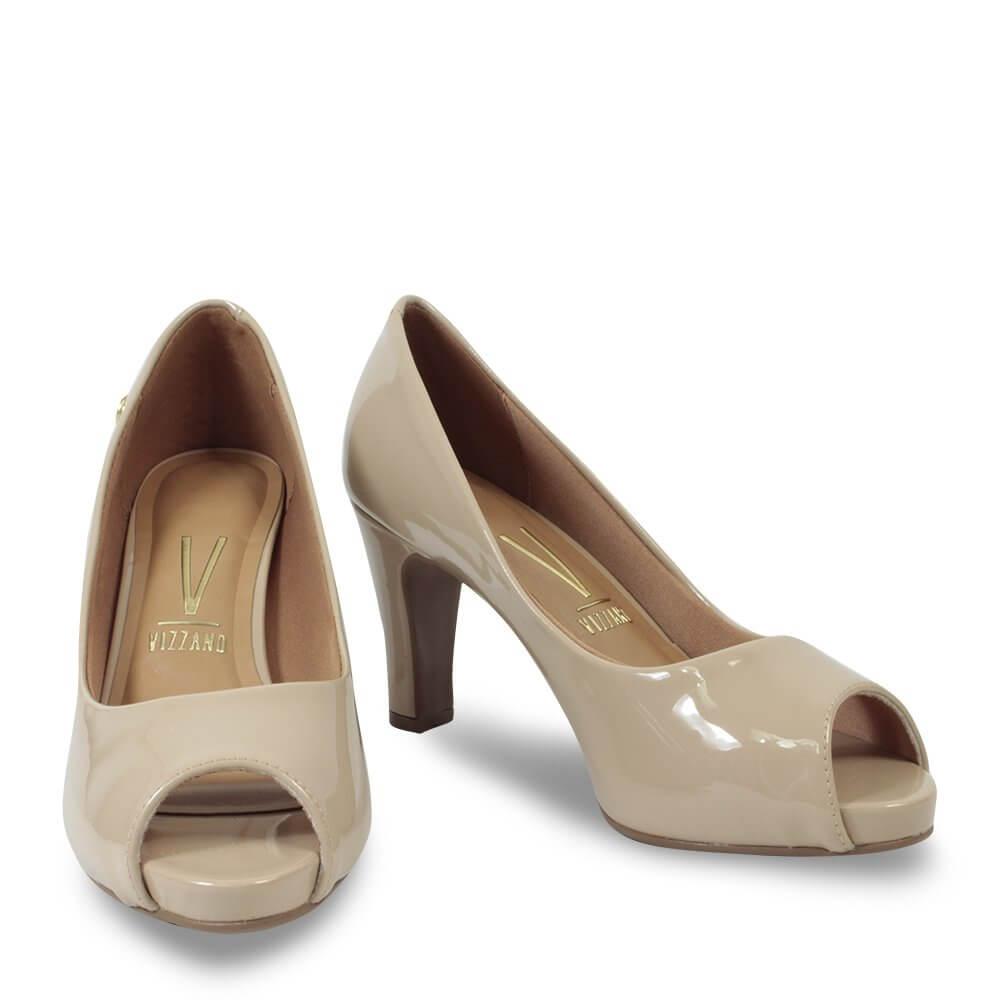 Sapato Vizzano Bege Feminino 1840 300