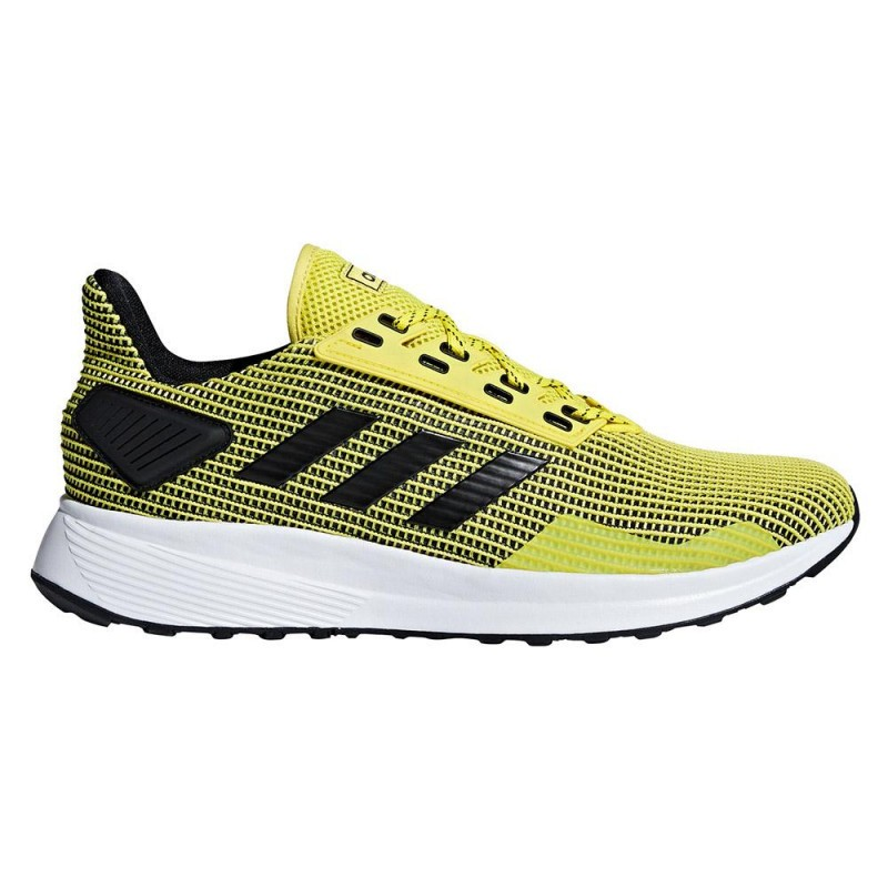 Tenis Adidas Amarelo/Pto Masculino Duramo 9