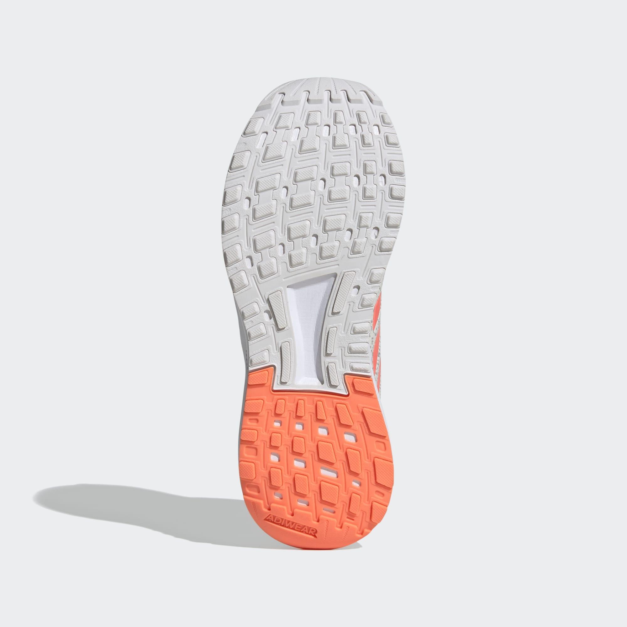 Tenis Adidas Branco/Coral Feminino Duramo 9