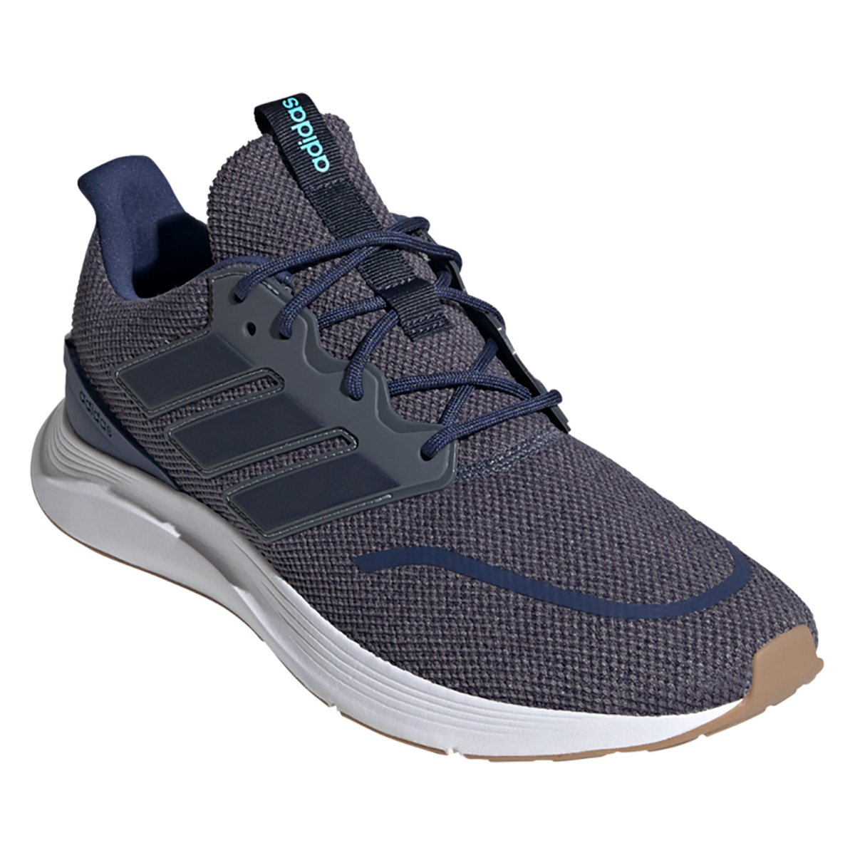 Tenis Adidas Cinza/Marinho Masculino Energy Falcon