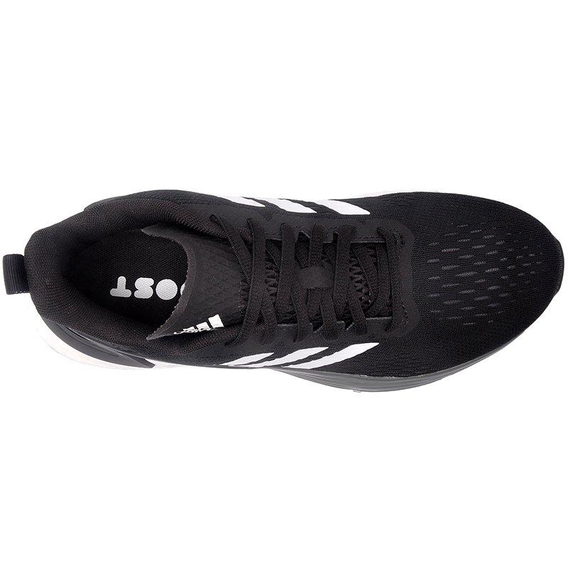 Tenis Adidas Preto/Branco Masculino Response Super Boost