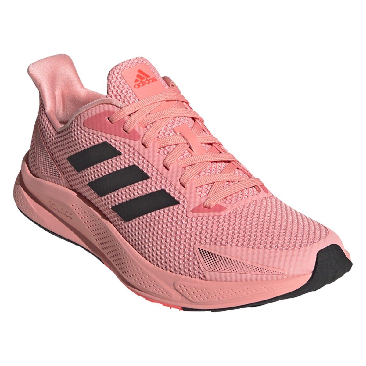 Tenis  Adidas Rosa Feminino X9000 L1