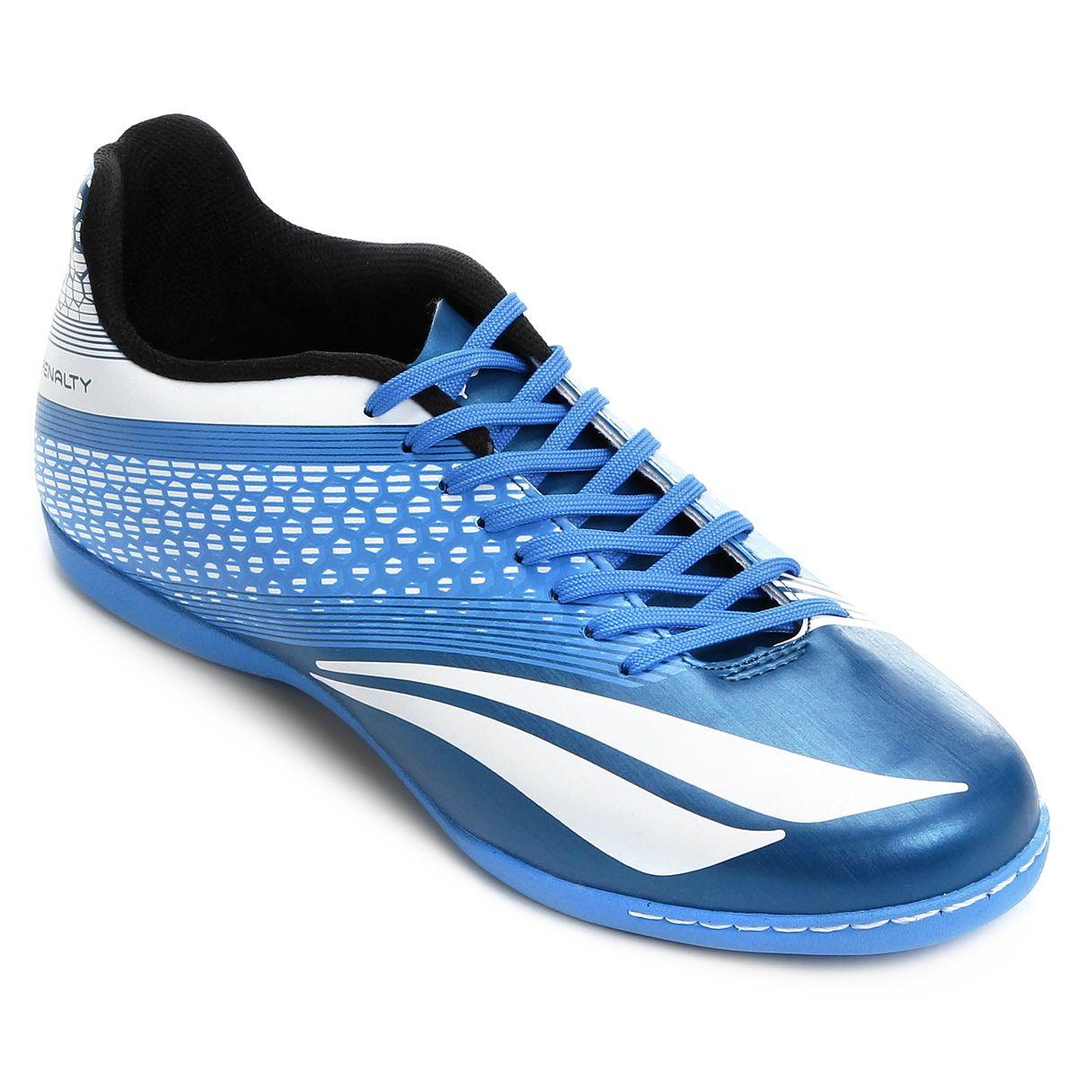 Tenis Futsal Penalty Azul/Branco Masculino Victoria