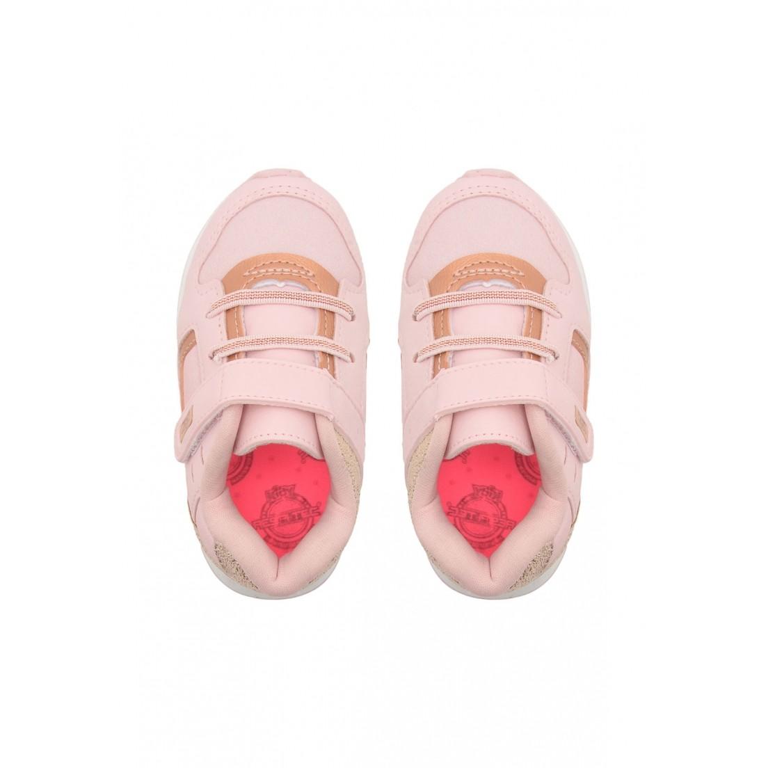 Tenis Kidy Rosa/Ouro Feminino 096-1121