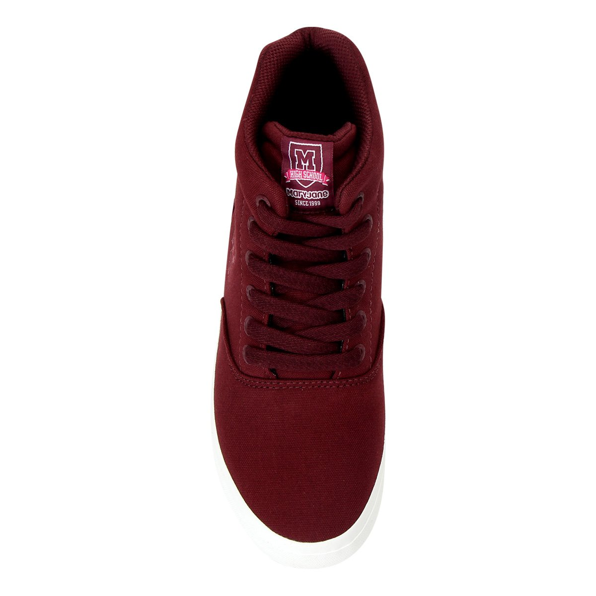 Tenis Mary Jane Bordo Feminino 4141