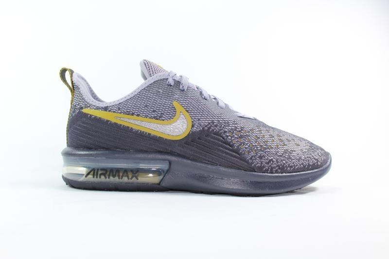 Tenis Nike Cinza/Grafite Masculino Air Max Sequent 4