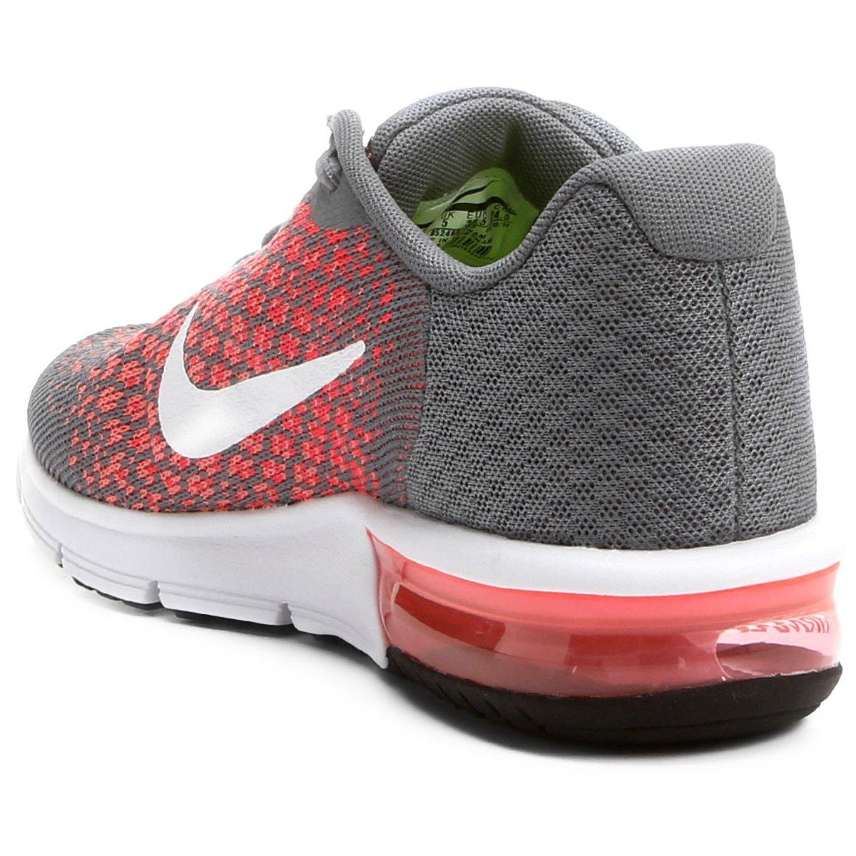 Tenis Nike Cza/Rosa Feminino Air Max Sequent