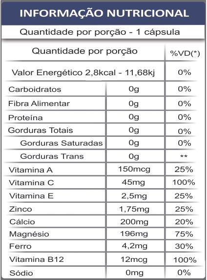 Colágeno Tipo 2 Artro2 Fauna e Flora 30 caps | Com Vitaminas, Magnésio, Cálcio, Zinco e Ferro