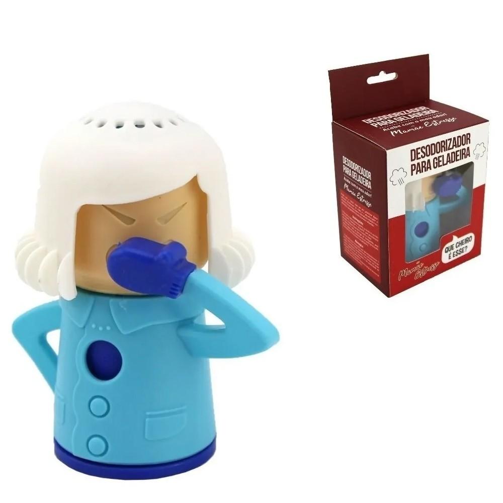 Desodorizador para Geladeira Mamãe Estresse   Tira Odor da Geladeira