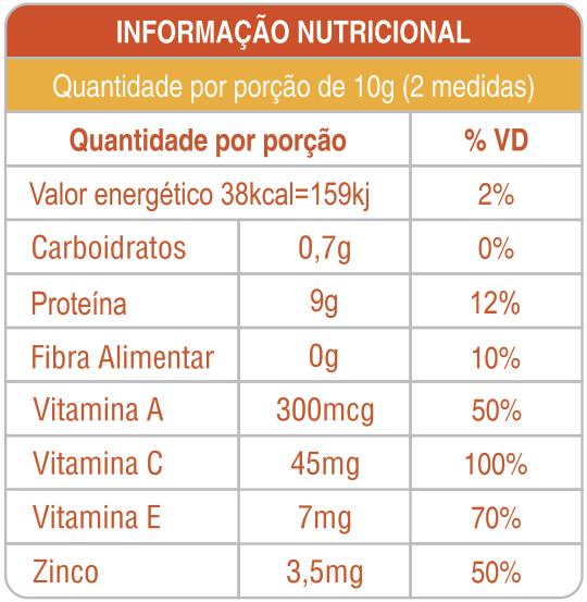 Kit 3 Latas Colágeno Hidrolisado com Silício Orgânico + Vitaminas 300g Sabor Tangerina