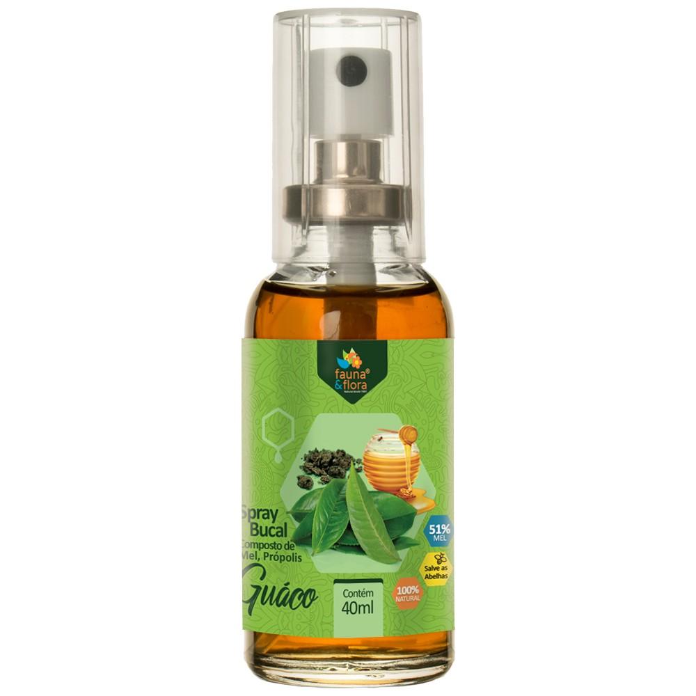 Spray de Própolis Sabor Guaco 40ml Fauna & Flora