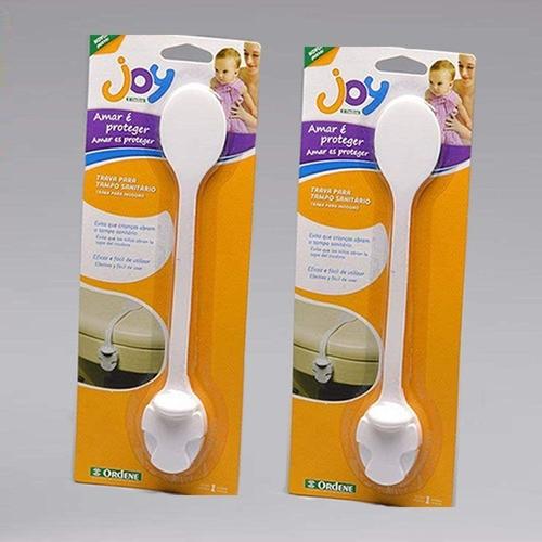 Trava Para Tampo Sanitário Ordene Proteção para o Bebê | Kit 2 Travas