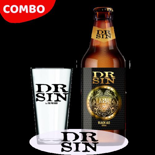 Combo - Dr Sin - 30 Anos (Black Ale + Copo)