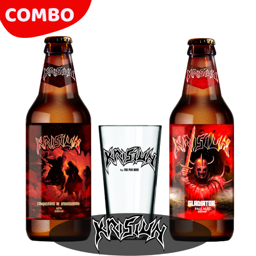 Combo - Krisiun (Gladiator + Conquerors of Armagedon + Copo)