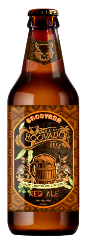 Groovador - Groovada (Red Ale c/maltes Chocolate e Whisky)