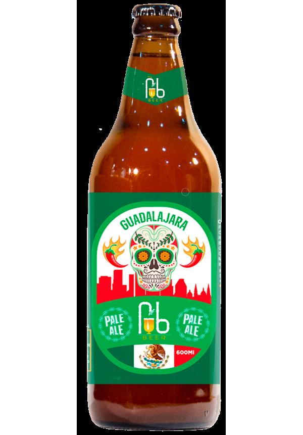 Guadalajara - Pale Ale (c/Mel e Pimenta)