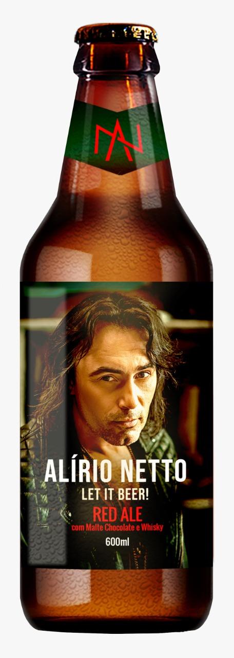 PRÉ VENDA - Alírio Netto - Let It Beer (Red Ale)