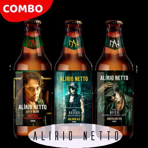 PRÉ-VENDA Combo Alírio Netto