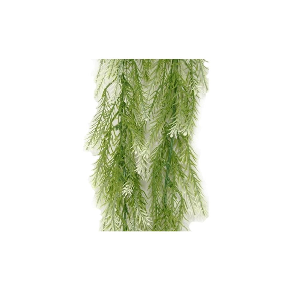 CÓPIA - Folhagem Pendente De Alecrim Verde Nevado