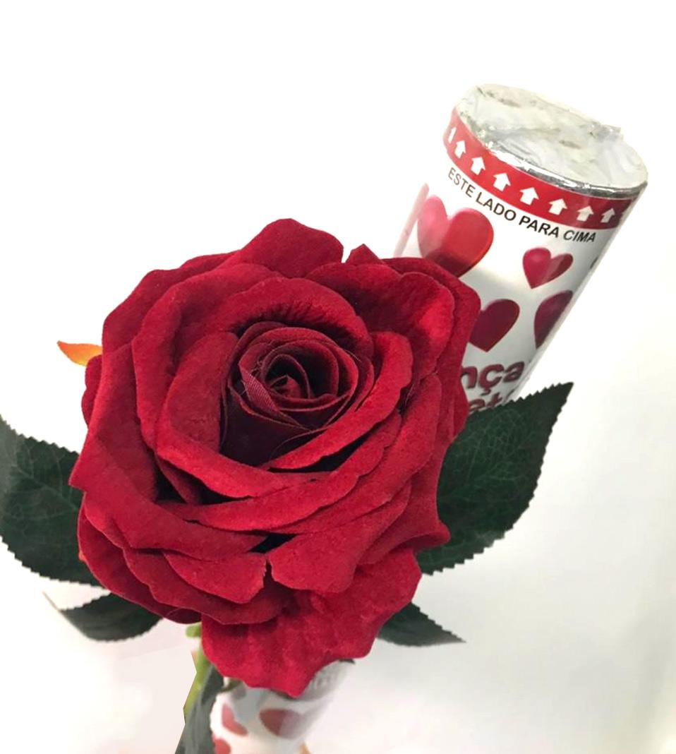 Lançador de pétalas + Haste de rosa
