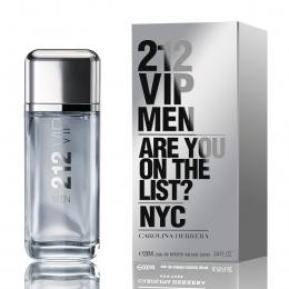 212 VIP Men Carolina Herrera Eau de Toilette Original - Perfume Masculino 200ml