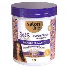Ativador de Cachos Salon Line S.O.S Cachos Super Óleos Nutritivo - 1kg