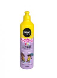Ativador De Cachos Salon Line #todecachinho Molinhas Kids - 300ml