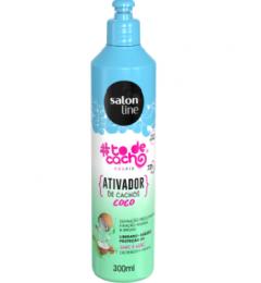 Ativador De Cachos Salon Line #todecachos Coco - 300ml