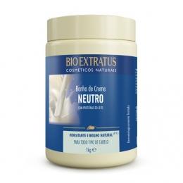 Banho de Creme Bio Extratus Neutro - Máscara Hidratação 1kg