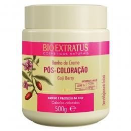 Banho de Creme Bio Extratus Pós Coloração  - Máscara Hidratação 500g