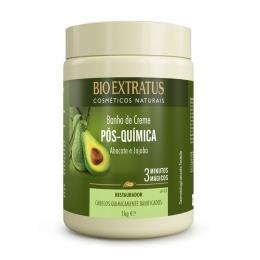 Banho de Creme Bio Extratus Pós Química  - Máscara Hidratação 1kg