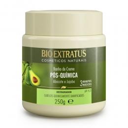 Banho de Creme Bio Extratus Pós Química - Máscara Hidratação 250G