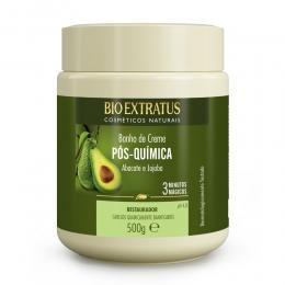 Banho de Creme Bio Extratus Pós Química - Máscara Hidratação 500g