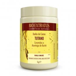 Banho de Creme Bio Extratus Tutano E  Ceramidas - Máscara Hidratação 1kg
