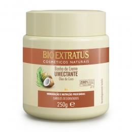 Banho de Creme Bio Extratus Umectante Óleo de Coco - Máscara Hidratação 250g