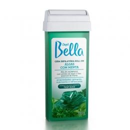 Cera Depilatória Depil Bella Roll-On - Algas com Menta 100g