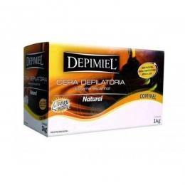 Cera Depilatória Depimiel  Natural - 1Kg