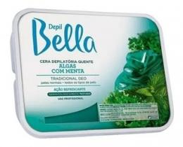 Cera Depilatória Quente Depil Bella Algas com Menta - 500g