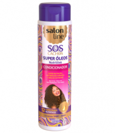 Condicionador Salon Line S.O.S Cachos Super Nutritivo -300ml